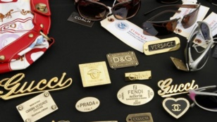 Samples of counterfeit goods PHOTO: VOA
